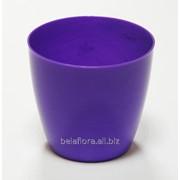 """Горшок пластиковый """"Ага"""" фиолетовый DA 14 фото"""