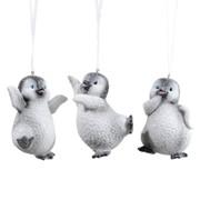 Декор Пингвин в ассортименте 7x5x9.5см фото