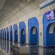 Медийная реклама в метро Алматы фото