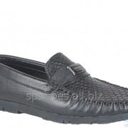 Туфли мужские 161-05, черный фото