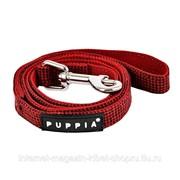 Поводок для собак Puppytooth, бордовый PUPPIA фото