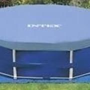 Тент - чехол для каркасных бассейнов Intex 28030 (58406) 305 см фото