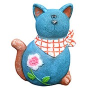 Фигура Кошка джинсовая 40755 фото