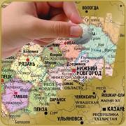 Скретч-карта России фото