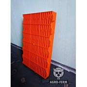 Пластиковые щелевые полы «Оранжевый» для свиней фото
