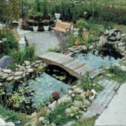 Услуги по устройству водоёмов, поливочных систем и изготовление фонтанов фото