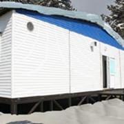 Вагоны-дома Столовая на 16 посадочных мест (из 3-х модулей) 8,0х8,4х2,8 фото