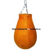 Груша боксерская из натуральной кожи 1,7мм ( ГБН14-4) 16кг 186 фото