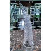 Сувенир-бокал «Рог» из Хрусталя фото