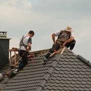 Монтаж крыши в Астане. Гарантия 10 лет фото