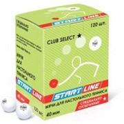 Мячи для пинпонга CLUB SELECT 1 звезда, 120 мячей в упаковке, белые фото