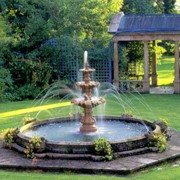 Строительство фонтанов. Благоустройство объектов недвижимости. фото