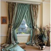 Эксклюзивные шторы на заказ, производство ткани Европа фото
