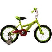Яркий,детский велосипед из сталиFlash Lime,4-6лет фото