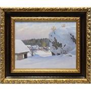 Картина Обилие снега (Шуршин Г.) фото
