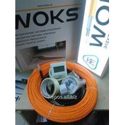 Теплый пол под плитку 12 м.кв Woks 1250 Вт тонкий кабель нагревательный 125 м фото