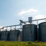 Зернохранилища из вентилируемых силосов, Силосы для зерна, фото