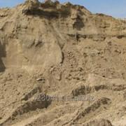 Песок строительный 6-30т. фото