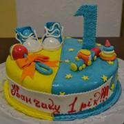 Торт дитячий 15 фото