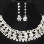 Комплект Ожерелье+ серьги фото