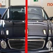 Комплексная полировка кузова автомобиля  фото