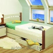 Кровать Олмеко 900 с ящиками фото
