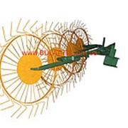 Грабли-ворошилки 5-ти колесные (Солнышко) толщина граблинной проволоки 5,0 мм фото