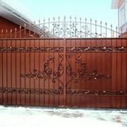 Художественная ковка ворот фото