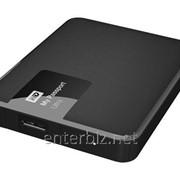 """Накопитель внешний 2.5"""" USB 3Tb WD My Passport Ultra Black (WDBBKD0030BBK-EESN) фото"""