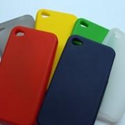 Чехол силиконовый iPhone 4 фото