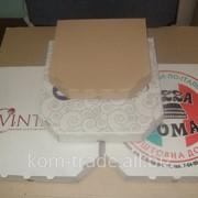 Коробки под пиццу, 250х250х30 фото