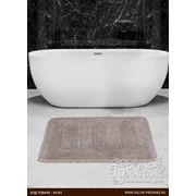 Коврик для ванной Karna LENA вязаный хлопок кофейный 60х100 фото