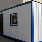 Изготовление; жилые контейнера, бытовки, мобильные фото