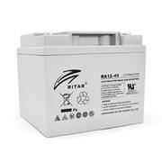 Аккумуляторная батарея AGM RITAR RA12-45, Gray Case, 12V 45.0Ah (198 x 166 x169 ) Q1 фото