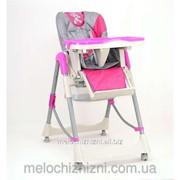 .Детский стульчик для кормления SC 03 НОВЫЙ, 1 РОЗОВЫЙ фото