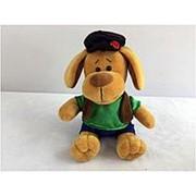 TEDDY Собака в кепке, 15см (YSW18762) фото