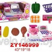 Детская касса (набор мой магазин) арт. B046 фото