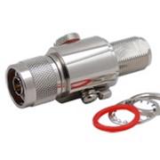 Грозоразрядник 0-6ГГц 50Вт N(M)-N(F) типа фото
