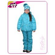 Зимний костюм для девочки фото