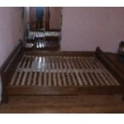 """Кровать из массива ясеня, дуба"""" Виктория"""" фото"""