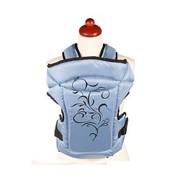 Рюкзак-кенгуру Womar Zaffiro №14 красный с чёрным фото