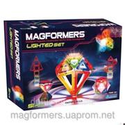Конструктор magformers Lighted Set с подсветкой фото