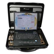 Расходомер-счетчик 2-х канальный для гомогенных сред и воды с ноутбуком(портативный вариант) фото
