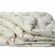 """Одеяло из овечьей шерсти облегченное """"Эконом """", 140*205 см (арт 189) фото"""