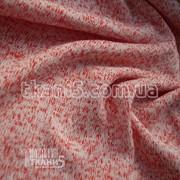 Ткань Трикотаж вязаный (красный) 5243 фото
