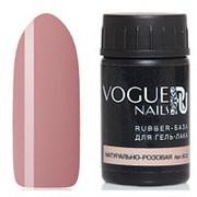 Vogue Nails, База для гель-лака Rubber, натурально-розовая, 14 мл фото