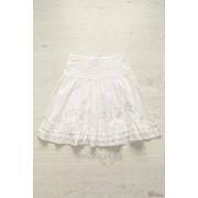 Юбка для девочки белая Wenice W3826(BB27923-2) л фото
