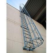 Испытание Вертикальных Лестниц С Ограждением фото