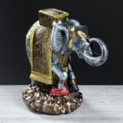 """Статуэтка """"Слон на камнях"""", 25 см фото"""