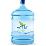 """Столовая вода """"AQUA green"""" это озонированная и структурированная вода фото"""